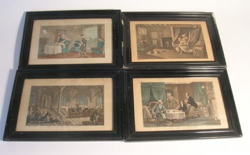 four dr syntax prints after rowlandson