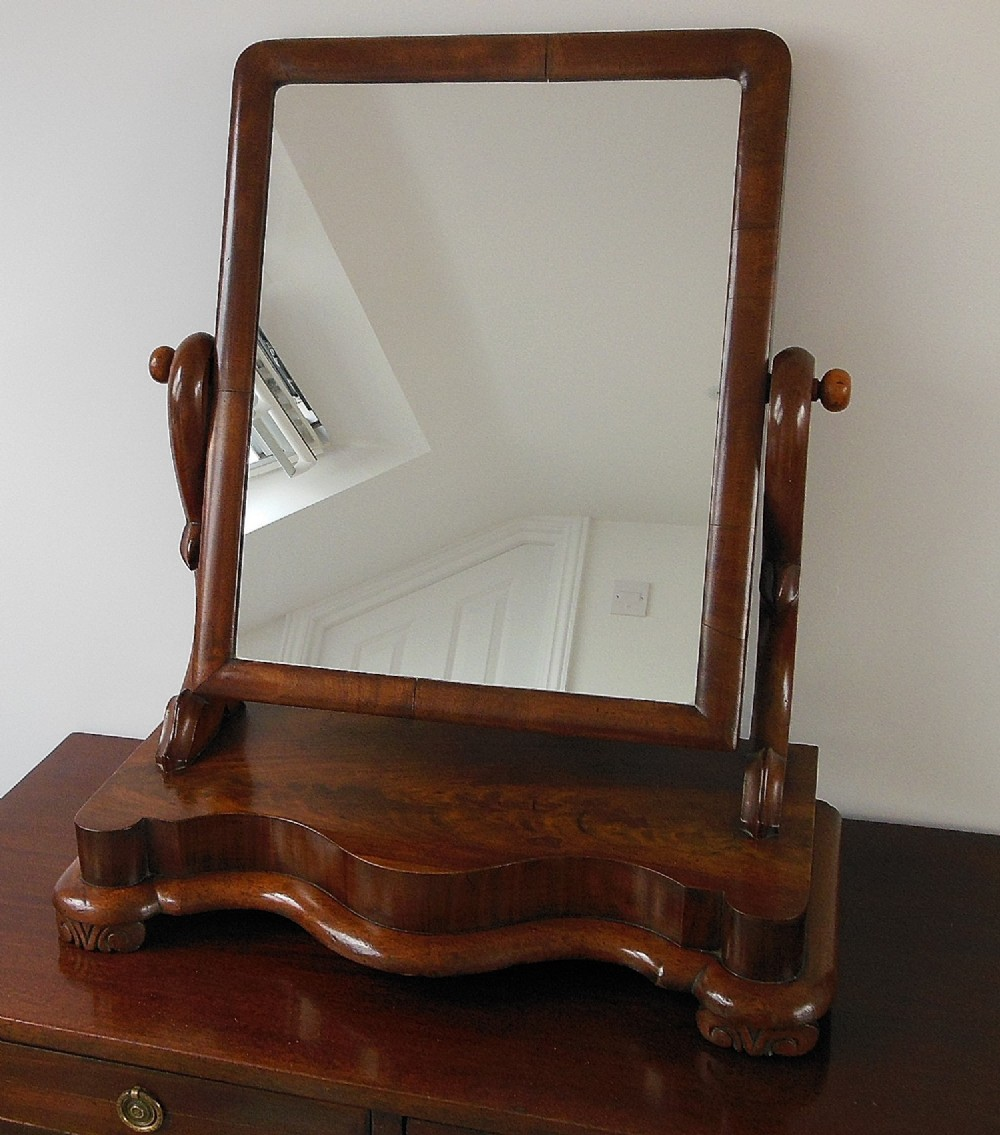 Large victorian dressing table mirror 298818 for Victorian mirror