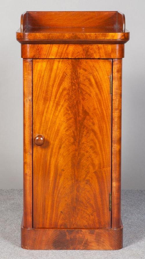 small victorian mahogany cupboard