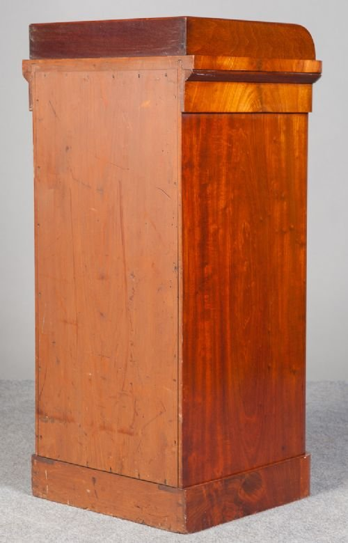 small victorian mahogany cupboard - photo angle #5