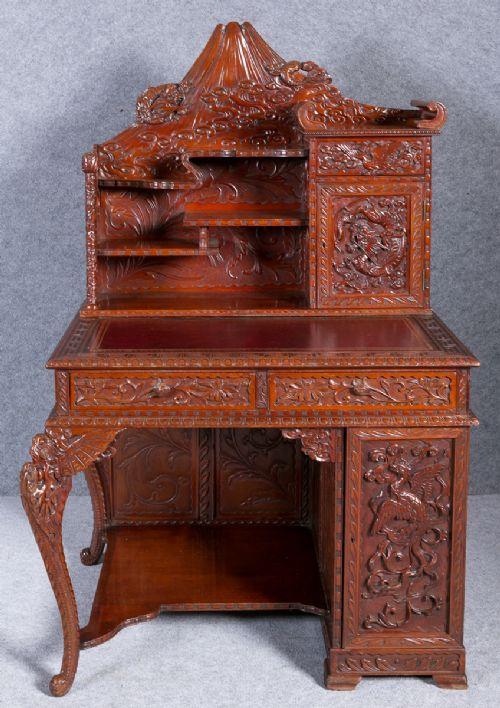 meiji period desk