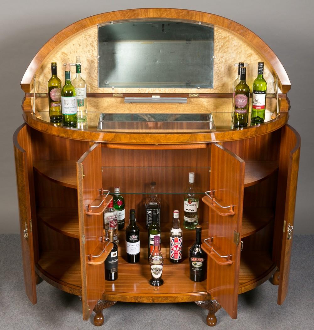 superb large cocktail cabinet - Superb Large Cocktail Cabinet 292883 Sellingantiques.co.uk