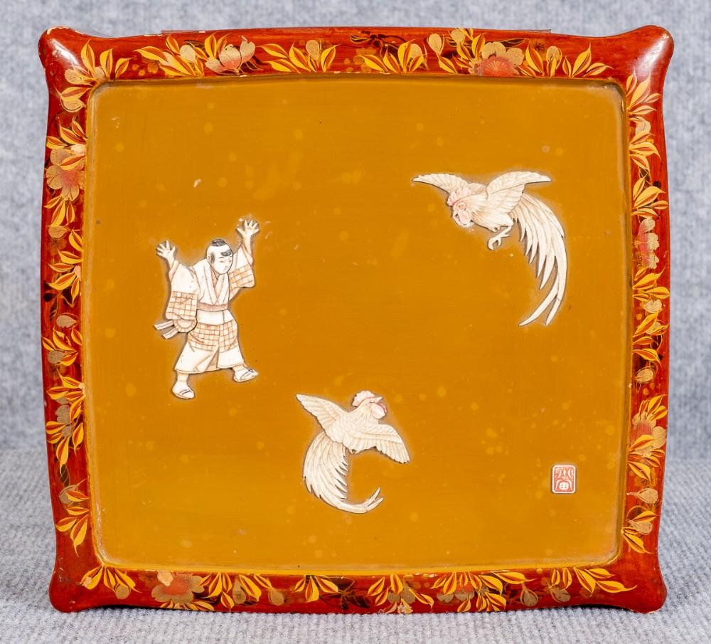 japanese meiji period shibayama style box