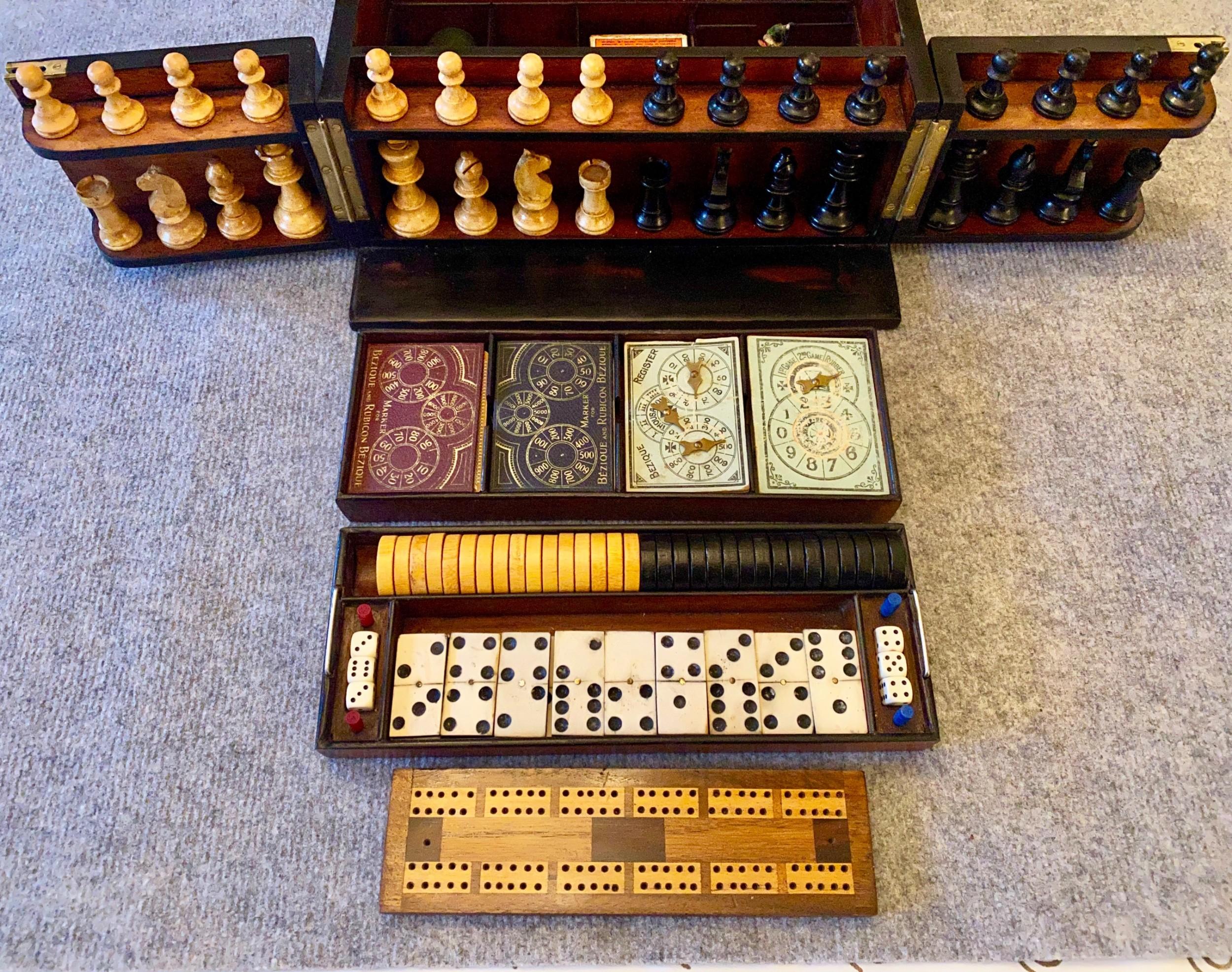 complete victorian coromandel wood games compendium