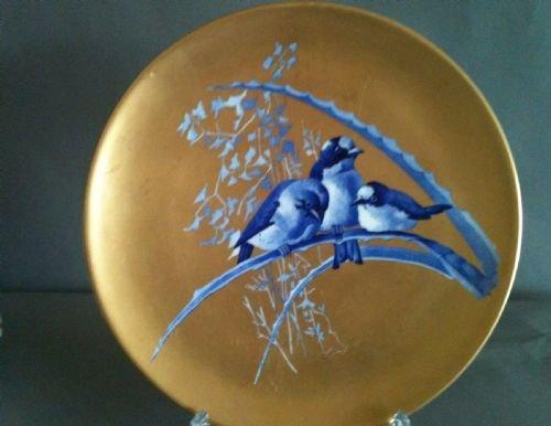 gilt wall plate