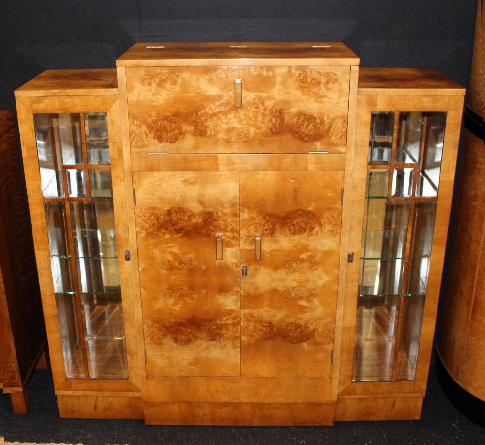 Art Deco Cocktail Cabinet