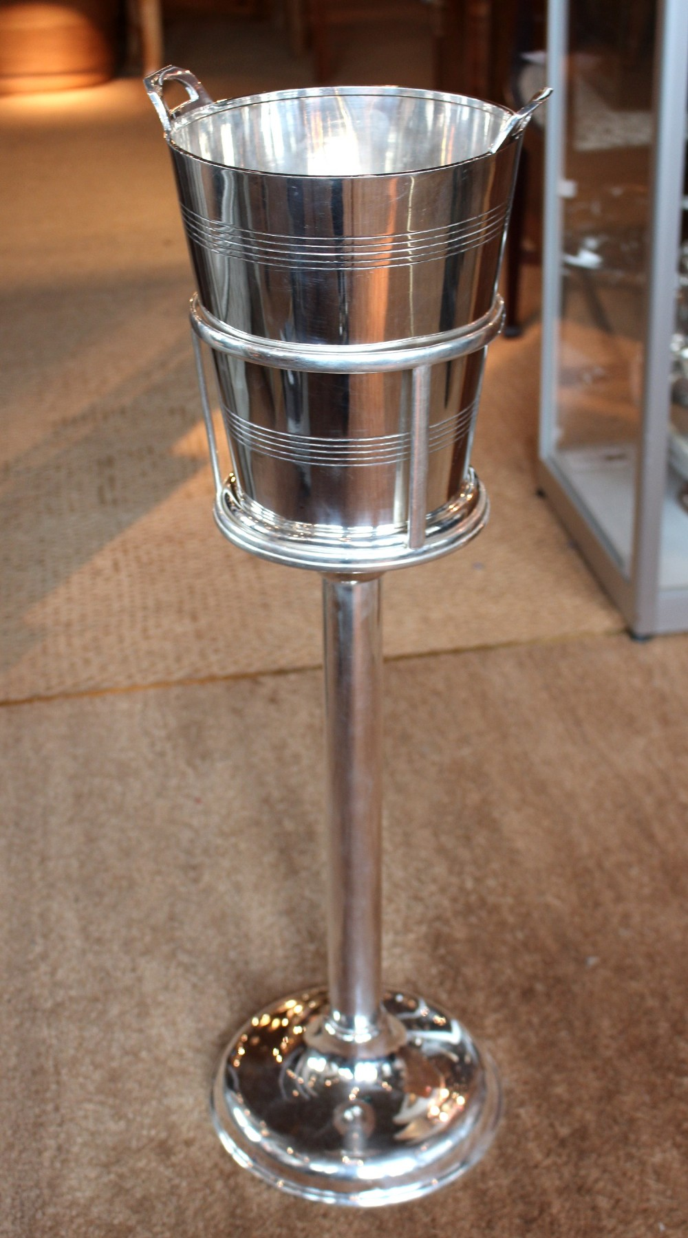 Art Deco Champagne Bucket On Stand 285891 Sellingantiques Co Uk