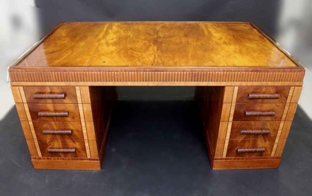 donald exotic wood amodec with deskey desk for deco art finish product