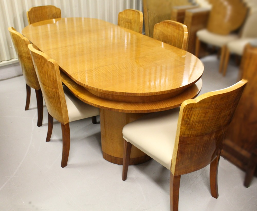 art deco dining table and chairs circa 1930 art deco dining table high