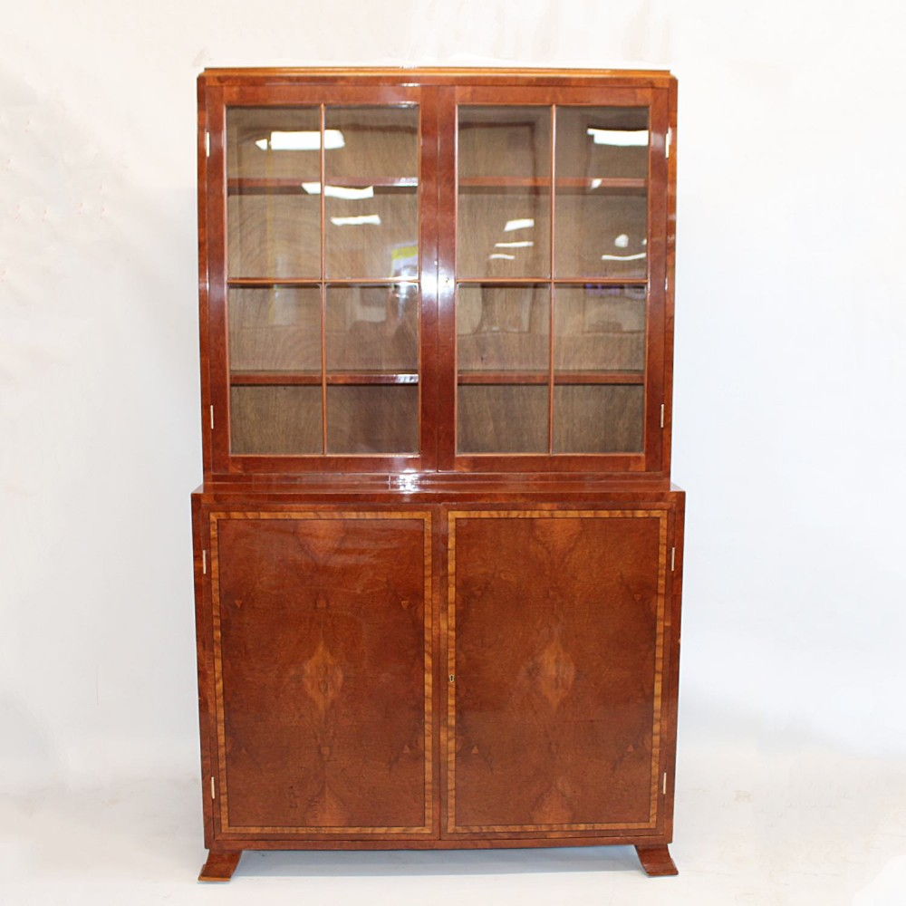 art deco bookcase c1930