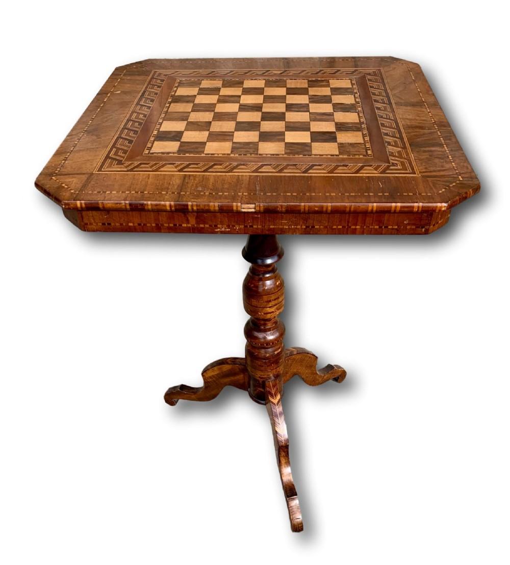 19th c italian sorrento table