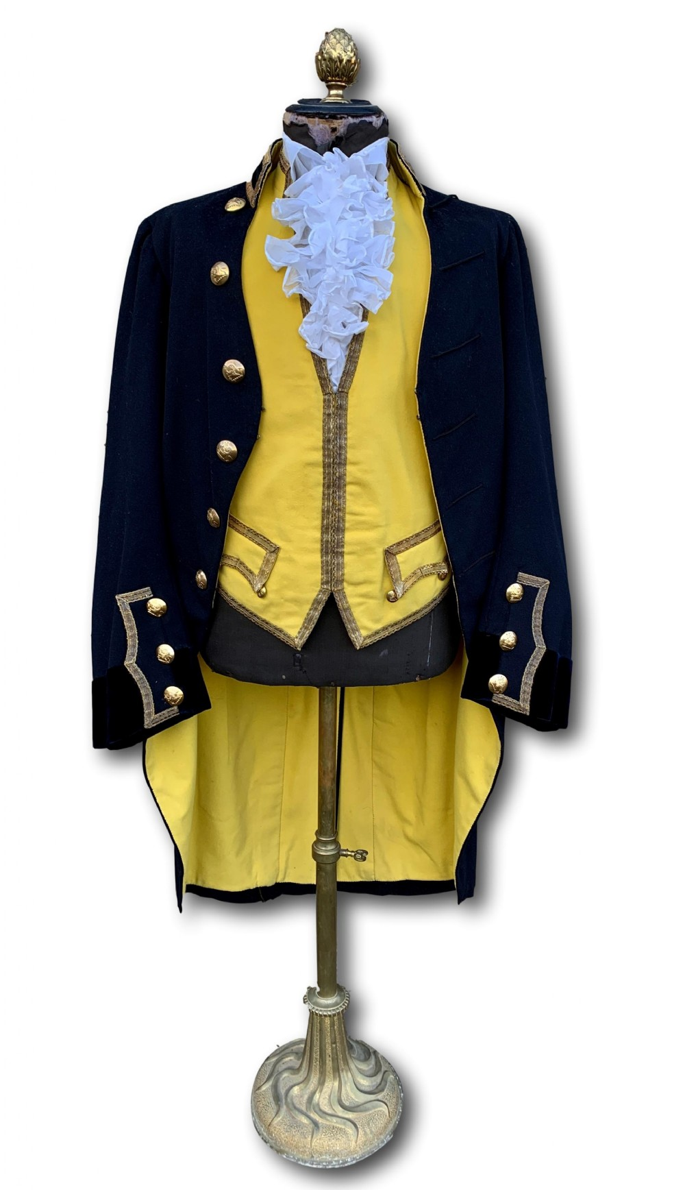 late victorian english country house footman's uniform