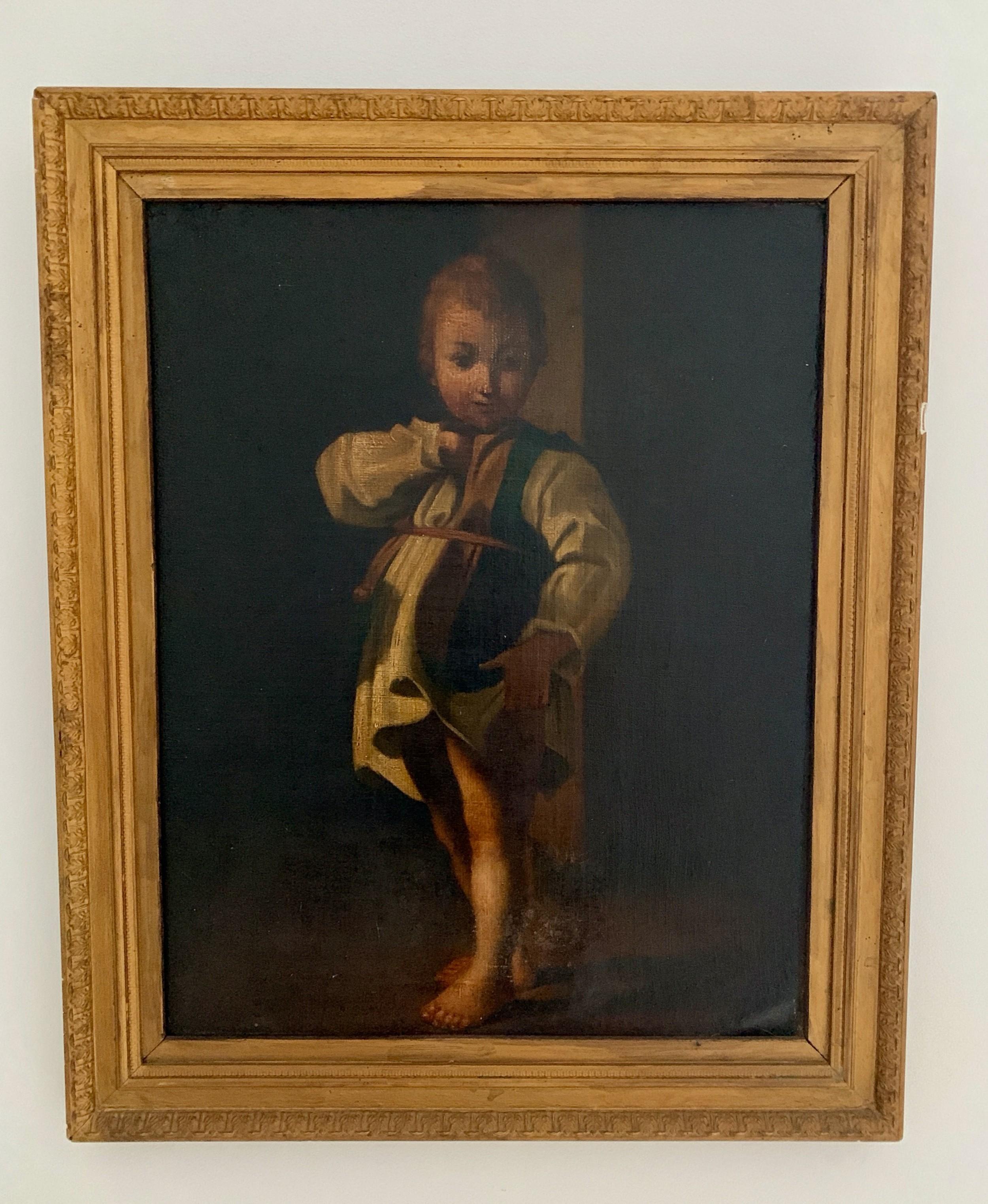 early 19th c italian oil on canvas