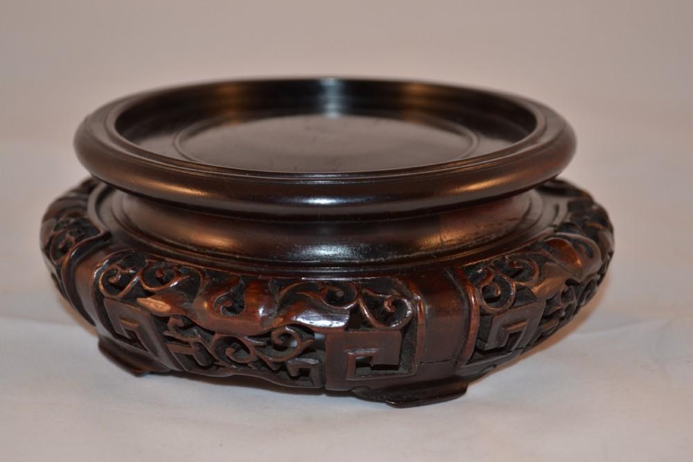 Chinese Hardwood Jar Or Vase Stand 310183 Sellingantiques