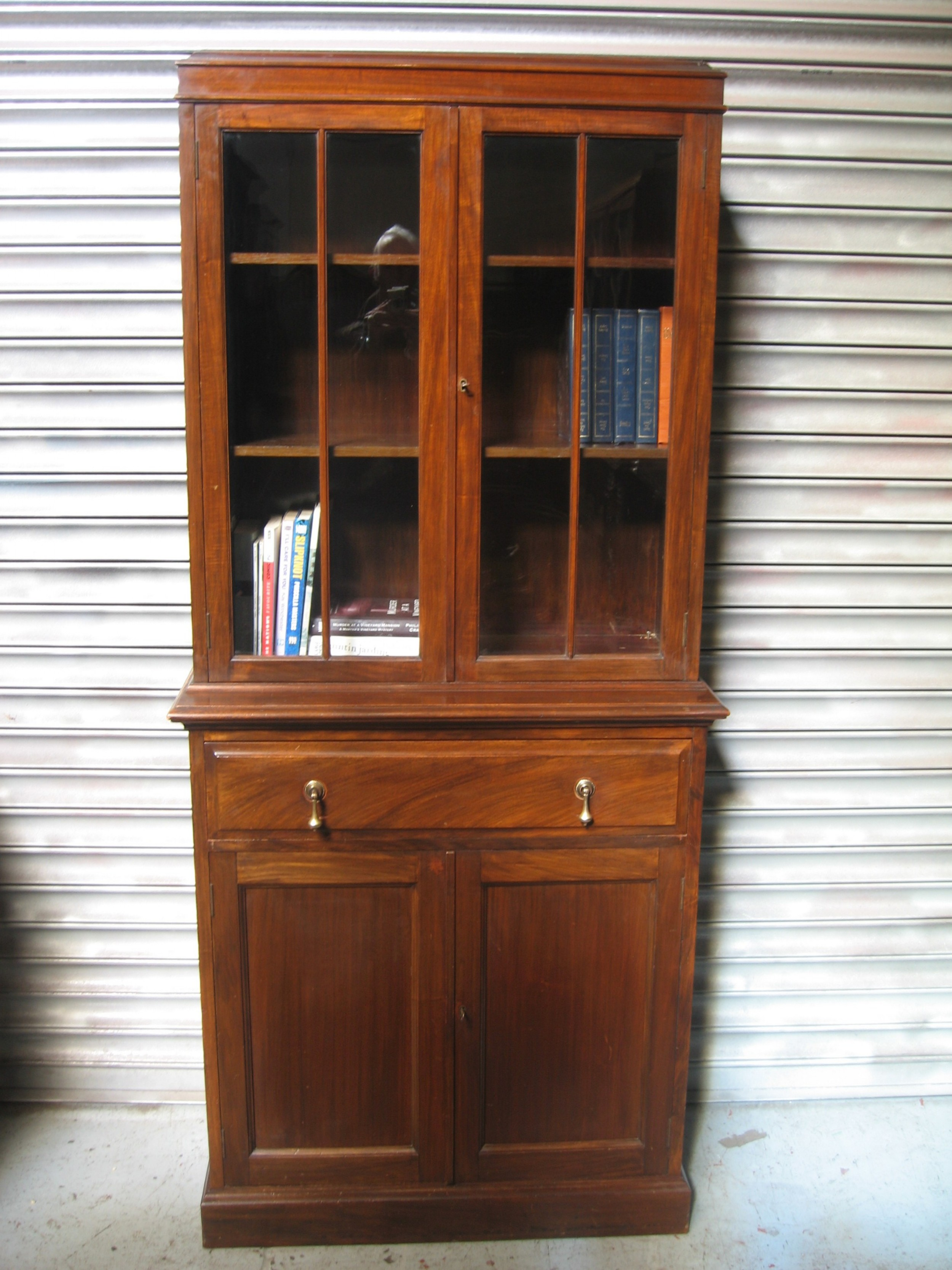 small size cupboard bookcase