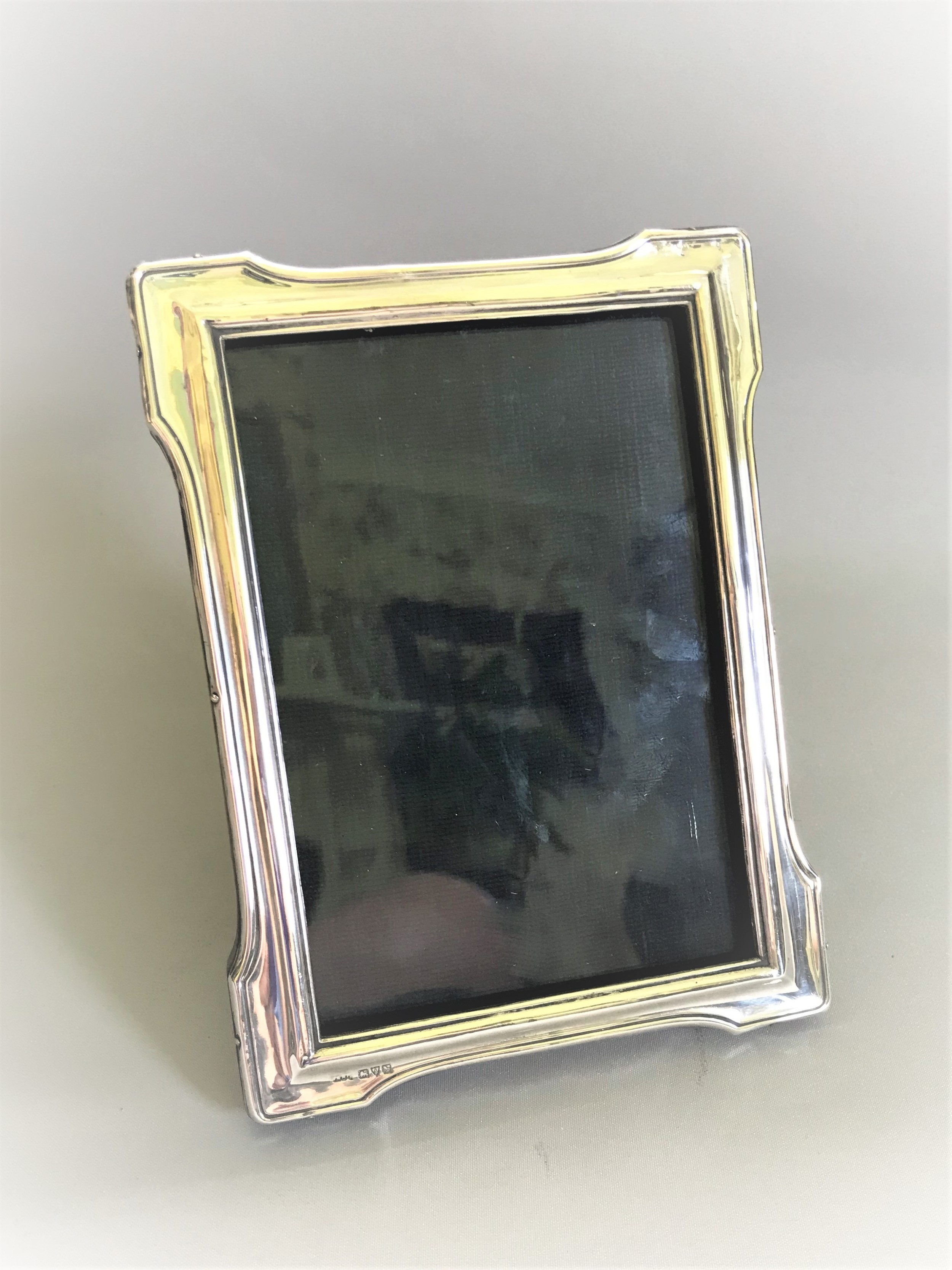 a lovely chester silver photo frame