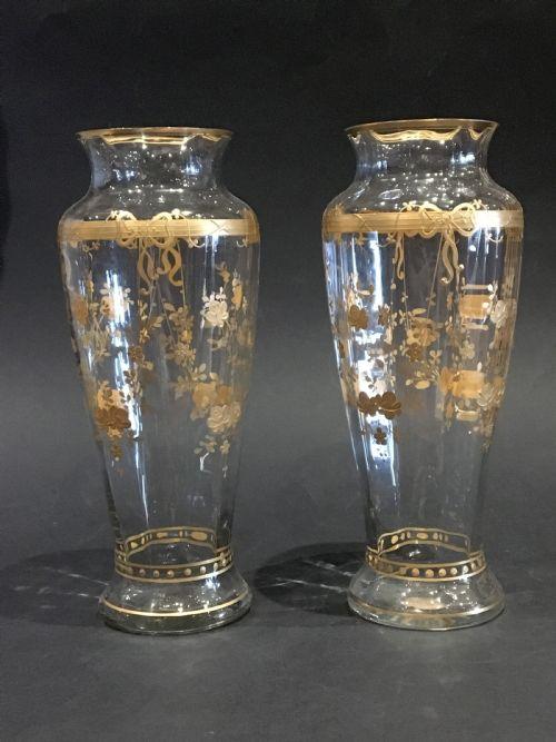 Antique Crystal Vases The Uks Largest Antiques Website
