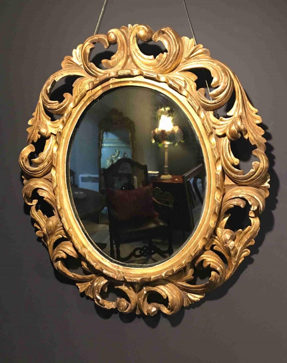 18th century florentine mirror