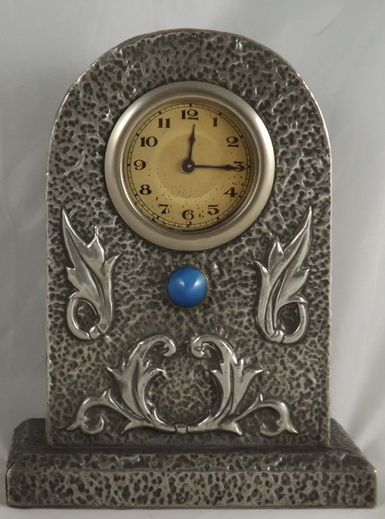 Arts and crafts mantel clock 235850 for Arts and crafts mantle clock