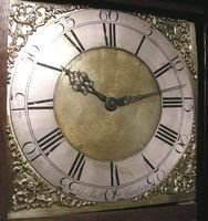 antique longcase clock - photo angle #2