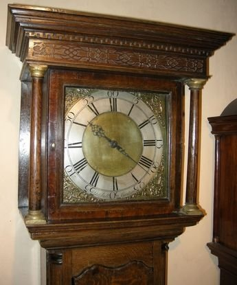 antique longcase clock - photo angle #3