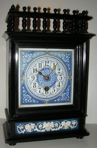 Arts and crafts aesthetic movement mantel clock 154385 for Arts and crafts mantle clock