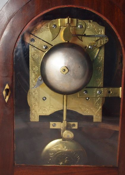 james mccabe london georgian regency bracket clock - photo angle #2