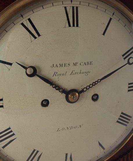 james mccabe london georgian regency bracket clock - photo angle #3