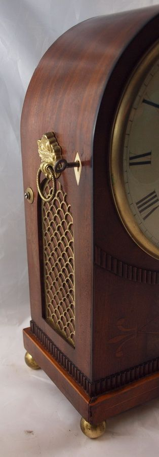 james mccabe london georgian regency bracket clock - photo angle #4
