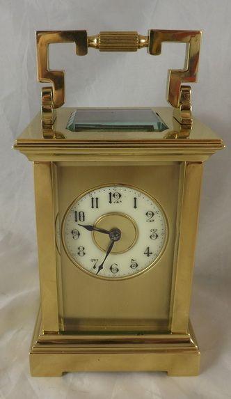 richard co striking carriage clock