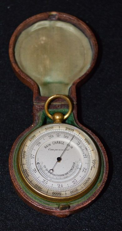english travelling barometer