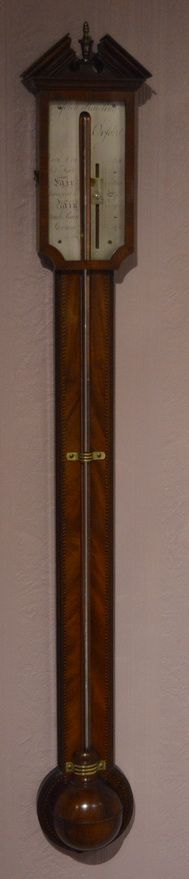 georgian stick barometer john hawling oxford