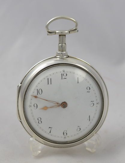 stilgoe pair cased pocket watch 1825