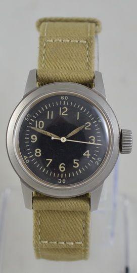 1943 waltham us military ord dept wristwatch