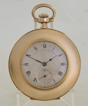 1920s gold plated pocket watch