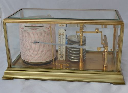 Fantastic Antique Barograph James Lucking Birmingham Leicester Download Free Architecture Designs Sospemadebymaigaardcom