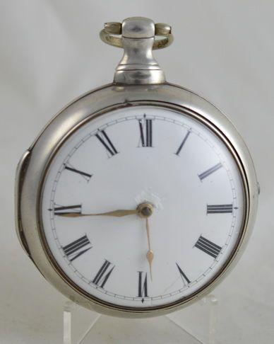 1816 silver verge fusee pocket watch williams carmarthen