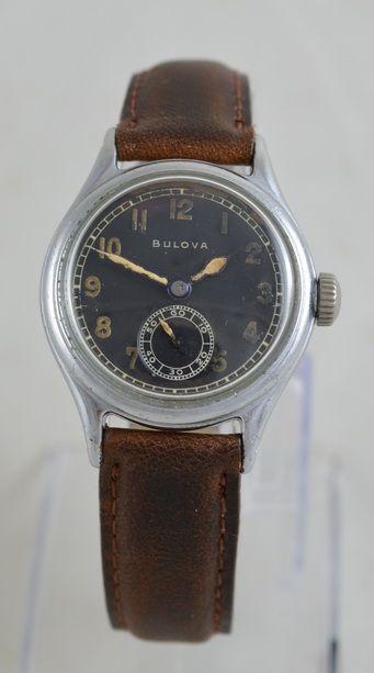 ww2 us military bulova wristwatch