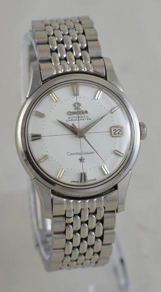 1961 omega constellation automatic chronometer wristwatch