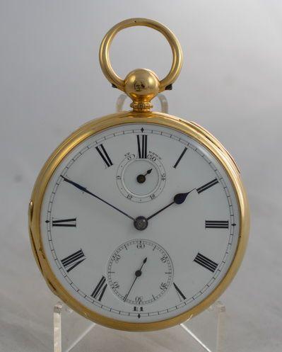 18k gold halfquarter repeat pocket watch