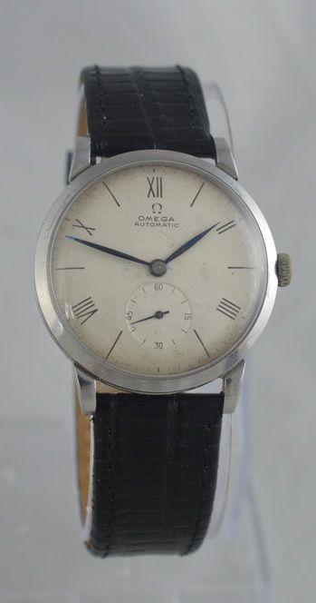 1946 omega automatic 'bumper' wristwatch