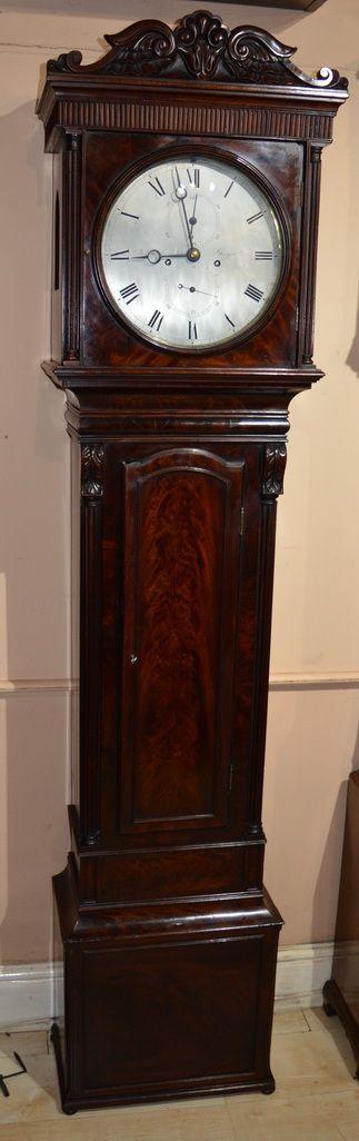 james muirhead glasgow regulator longcase clock