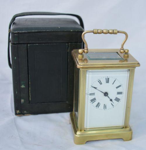 french carriage clock original box