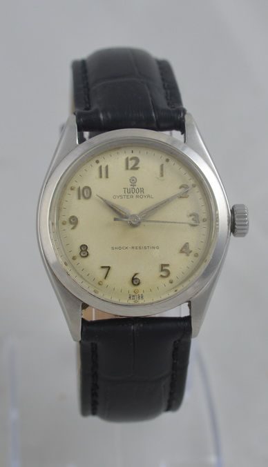 1960 tudor oyster royal wristwatch