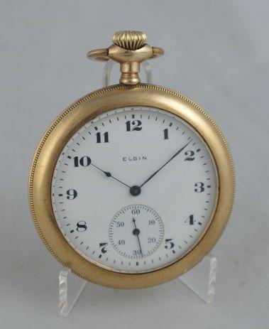 1919 elgin decorative pocket watch