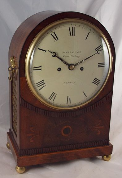 james mccabe london georgian regency bracket clock
