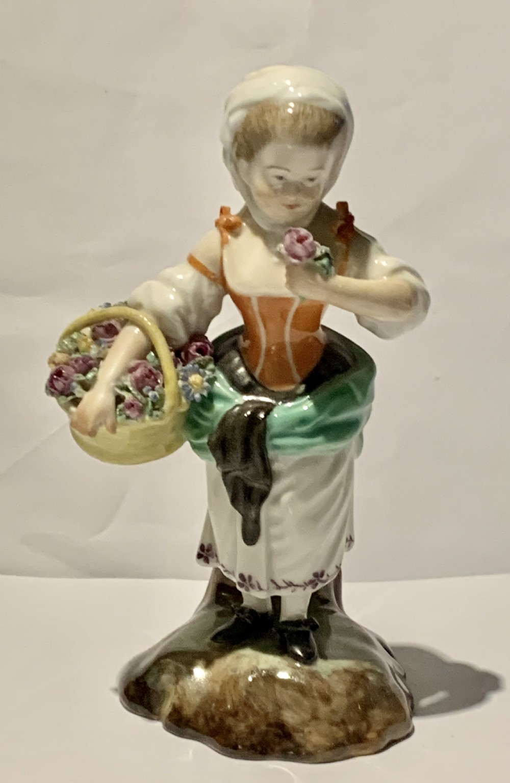 royal copenhagen porcelain figurine spring allegory from four seasons