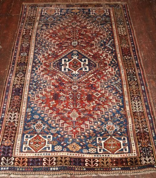 Antique South West Persian Qashqai Rug Great Condition