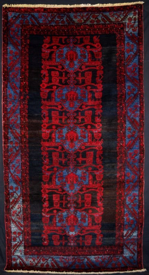 antique turkish komurcu kula rug great design circa 1920