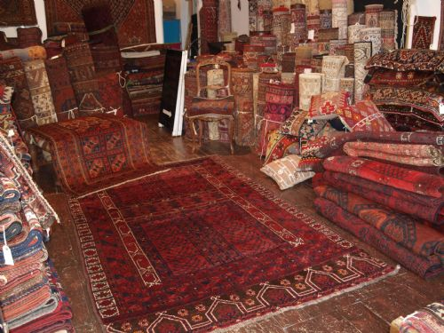 Thumbnail picture of: 42 OLD & ANTIQUE AFGHAN RUGS HAVE ARRIVED AT THE SHOP THIS WEEK FROM AFGHANISTAN.